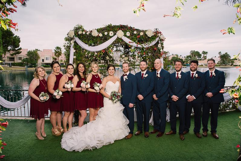 Wedding At Lakeside Weddings In Las Vegas